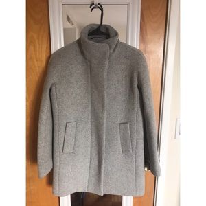 New J. Crew City Coat in Grey (Heather Graphite)